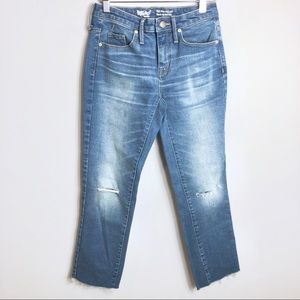 Mossimo High Rise Straight Crop Jeans Size 00R
